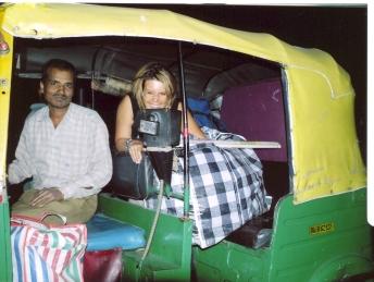 Aan't aankope doen in Delhi, Indie