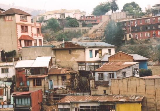 Dele van Valparaiso is maar haglik en dis nie 'n goeie idee om daar te gaan rondloop nie