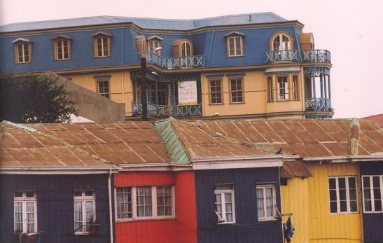 Kleur is kenmerkend van Valparaiso