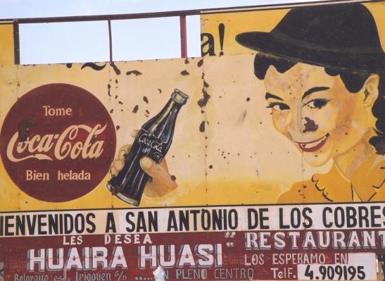 San Antonio de los Cobres naby Chile se grens