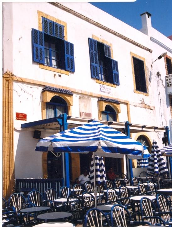 Die hoofplein in Essaouira