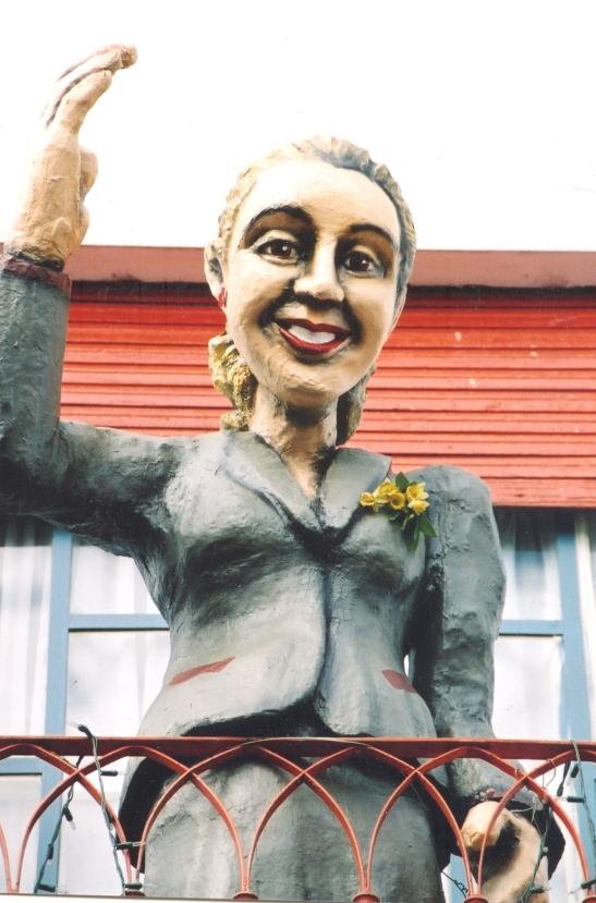 Evita in La Boca