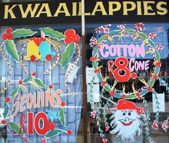 Kwaailappies in Goodwood looked festive over the silly season