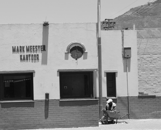 The office at Salt River Market still retains its original lettering