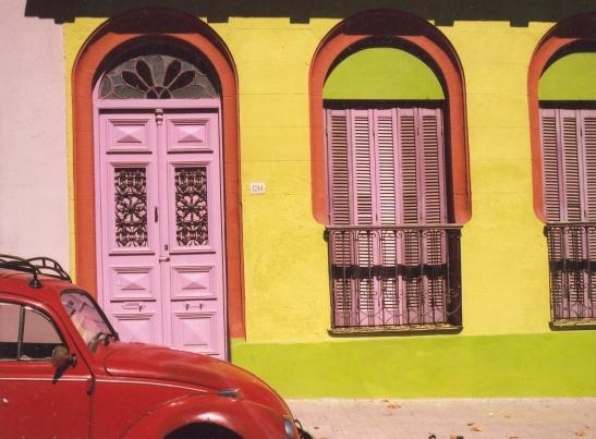 Kleur is eintlik ongewoon in Uruguay