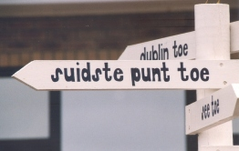 Ry suid na die suidste punt en sorg net dat jy nie by Dublin eindig nie