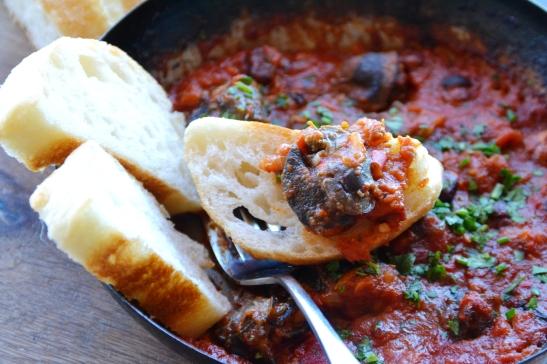 Paprika-slakke volgens 'n Spaanse resep by Roca Restaurant