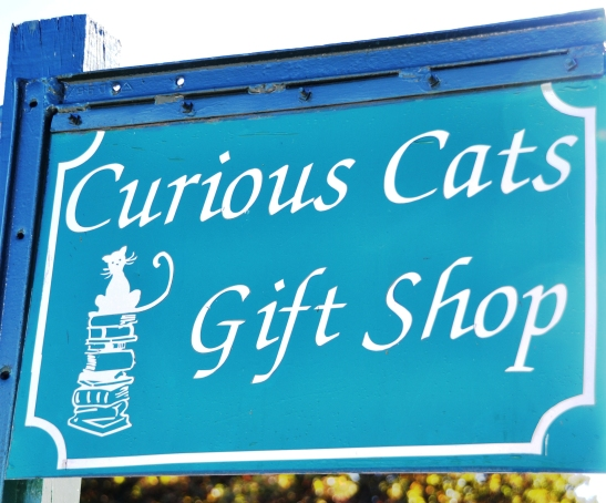 Curious Cats Geskenkwinkel vir nuuskierige agies
