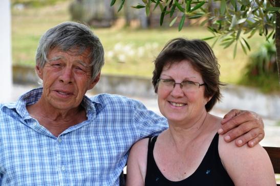 Piet en Marie van As vertel soms om die beurt stories