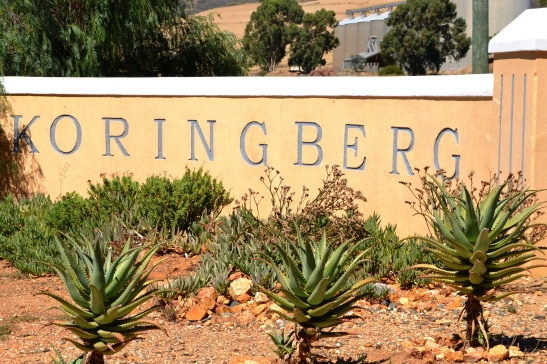 Die ingang van Koringberg