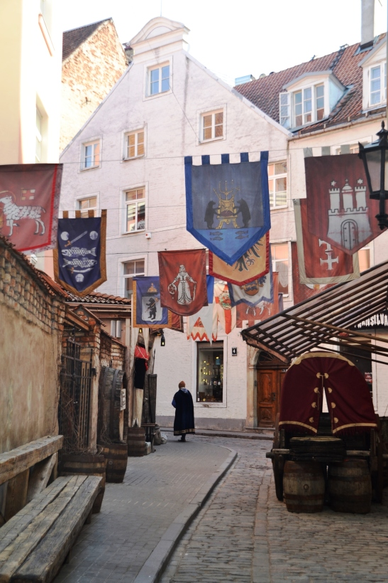 An alleyway with a feeling of medieval times