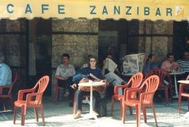 Cafe Zanzibar in Fes, Morocco
