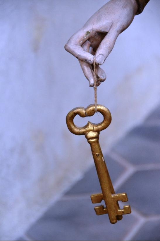 Dalk kan hierdie sleutel die geheim tot die inspirasie van die beendere oopsluit