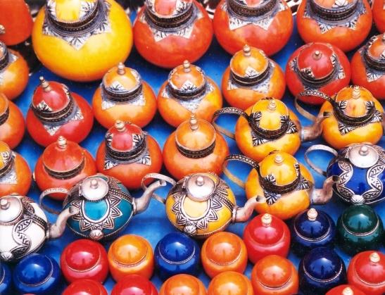 Morokko is 'n land van geur en kleur, argitektuur en tekstuur