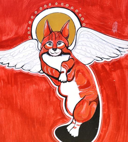 By Marmalade Angel is 'n gemmerkat met die naam Sumak