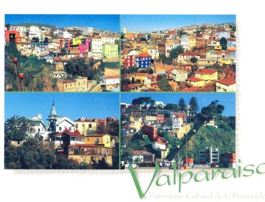 Op poskaarte lyk Valparaiso romanties en georganiseerd