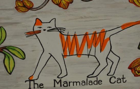 The Marmalade Cat is in die hoofstraat van Darling gelee