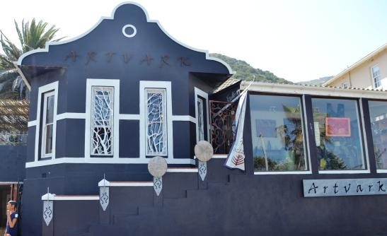 Artvark se mooie gebou met elegante gewel