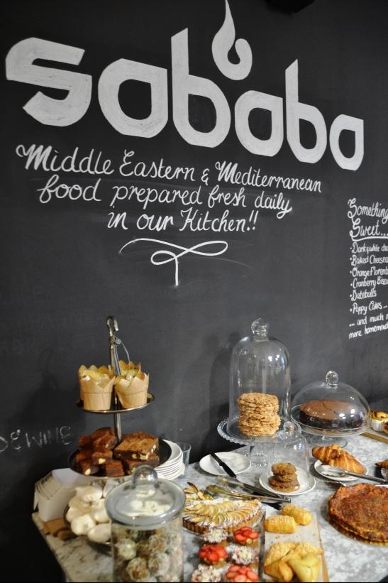 By Sababa is Israeli gebak deel van die ontbytbuffet