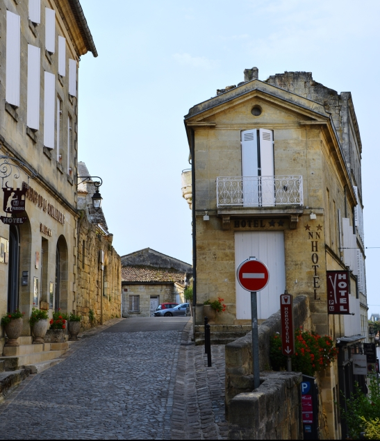 Saint Emilion's cobbled streets offer a lot to see and photograph