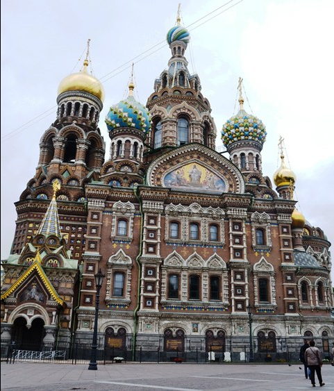 Approaching the Church on Spilled Blood