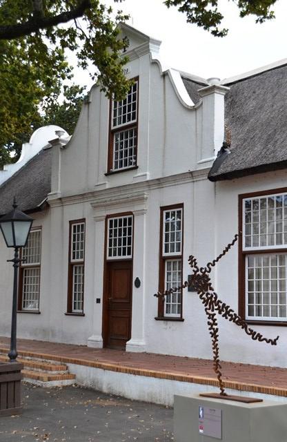 Skop jou onderrok uit in Stellenbosch