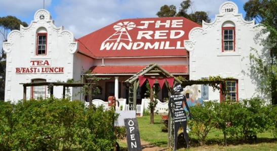 The Red Windmill is the place to go for a bunny chow in the Overberg