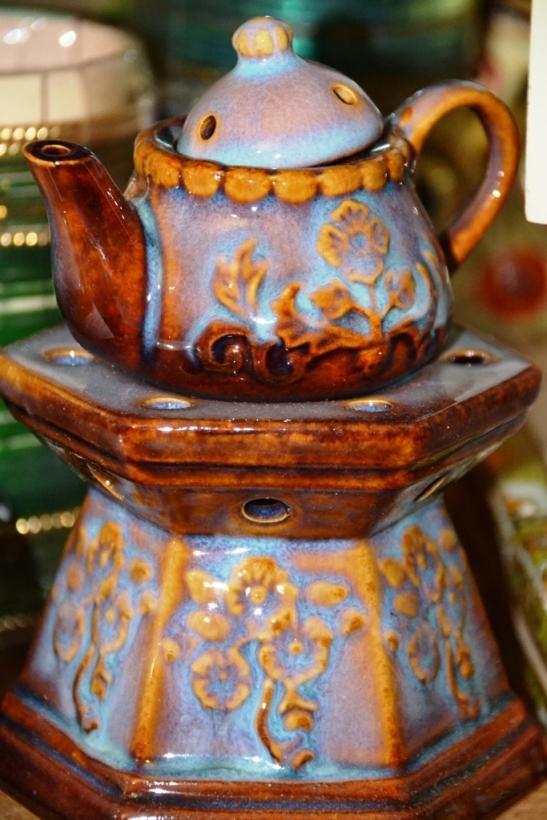 Mini Teapot Incense Burner