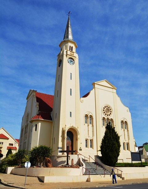 Napier - as well as Bredasdorp - have incredibly beautiful churches