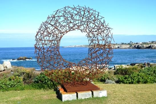 In die middel van die stokkiesirkel is die Nuwe Hawe net-net te sien