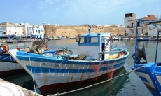 The harbour of Bizerte