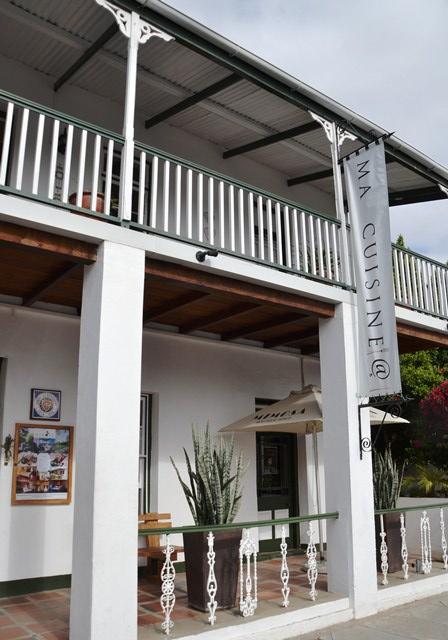Ma Cuisine, the award-winning restaurant at Mimosa Lodge
