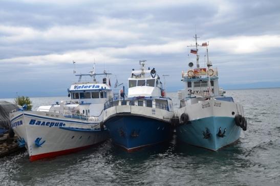 Off-season at Listvyanka on Lake Baikal