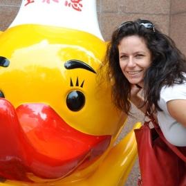 Reismaat Vanessa by Quanjude Roast Duck Restaurant se ingang
