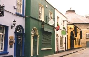 In Dublin word regtig so baie kleur gebruik as wat op poskaarte en plakkate uitgebeeld word