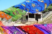 Wapperende sarongs