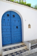 Blue doors have been the custom for centuries