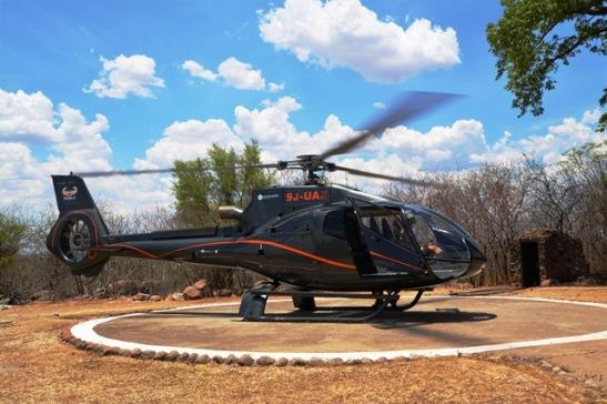 Boek 'n helikoptervlug oor die Victoria-waterval en besef die totale omvang daarvan