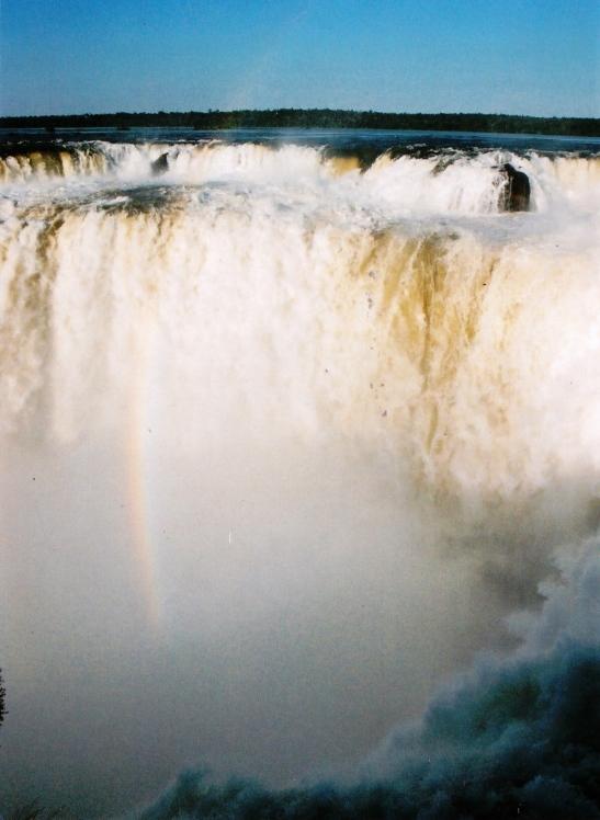 Die Duiwel se Keel by Iguazu aan Argentinie se kant