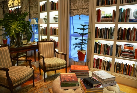 It's difficult to tear yourself away from the tranquility of the Reading Room