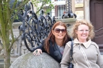 Maria en Vicki in Gdansk