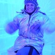 Op 'n high in die Ice Bar