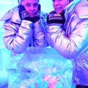 Diep gedagtes in die Ice Bar
