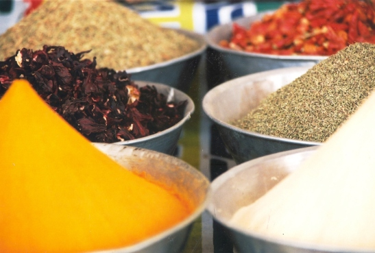 Egipte is 'n land van geur en tekstuur