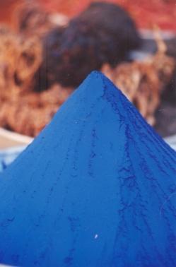 Kobaltblou Kleursel