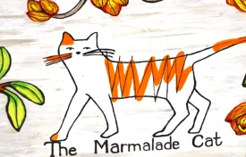 The Marmalade Cat is in die hoofstraat van Darling