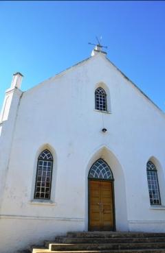 Op Sondagoggende word daar kerk toe gegaan
