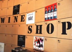 Don't miss the wine shop in Darling