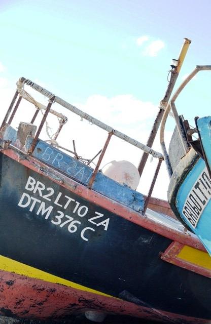 Kameraadskap tussen vissersbote