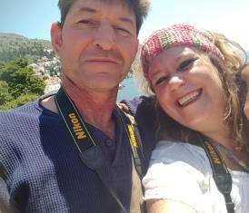 2017: Die Zieters oefen selfies in Dubrovnik